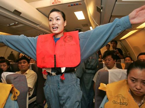 A flight attendant's primary job is to keep you safe - and they're trained extensively for any kind of emergency