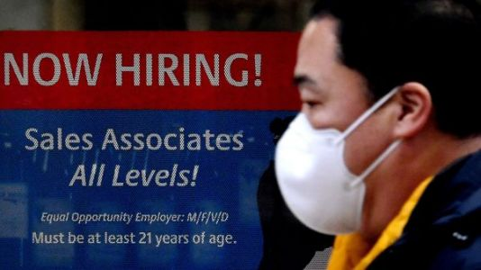 Employers Added 379,000 Jobs Last Month As Economy Emerges From 'Winter Hibernation'