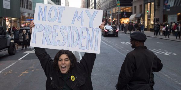 9 pro- and anti-Trump American protests that might have never happened without Russia trolls