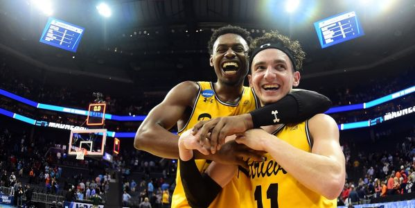 The school that pulled off the biggest upset in March Madness history had a fantastic message for Valentine's Day