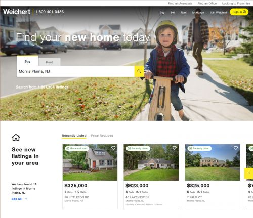 Weichert Redesigns Weichert.com to Enhance Customer Experience