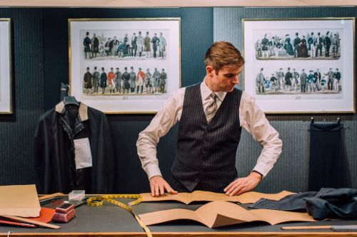 London's Savile Row exported bespoke British suits to the 1%. Can it survive in a socially distanced world?