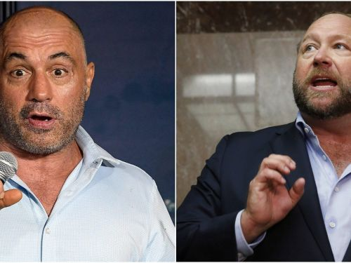 Some of Joe Rogan's advertisers are sticking with the popular podcaster's Spotify show despite the Alex Jones controversy
