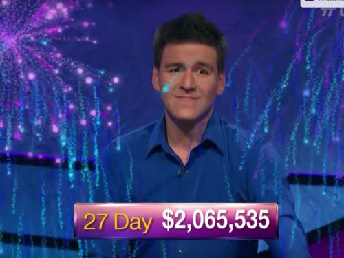 Reigning 'Jeopardy!' champion James Holzhauer crosses the $2 million threshold