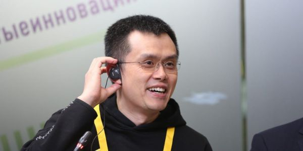 Binance CEO Changpeng Zhao says his cryptocurrency exchange is seeing increased 'institutional adoption'