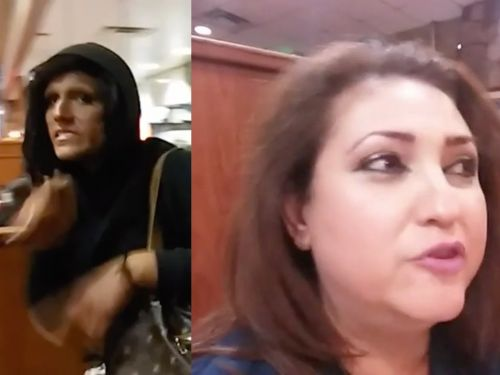 Viral footage appears to show a manager kicking a transgender woman out of a Denny's after a congressional candidate filmed her using the women's restroom