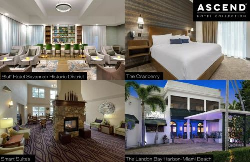 Ascend Hotel Collection Adds Four Hotels to Its Portfolio