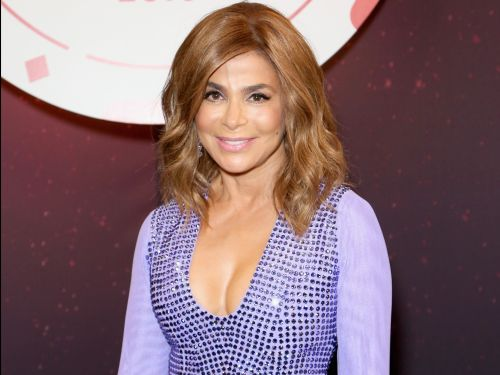 Fans took a video of Paula Abdul falling off a stage during her concert, but the iconic singer got right back up