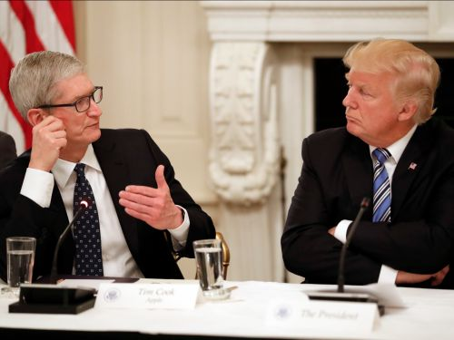 Apple CEO Tim Cook has met Trump at least 5 times in a year in a desperate bid to keep him on-side amid the trade war