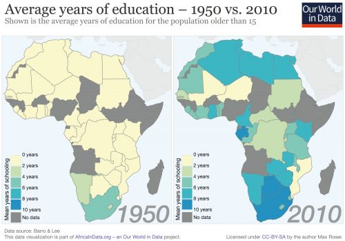8 charts and maps that show Africa's incredible leaps in health, finance, and politics