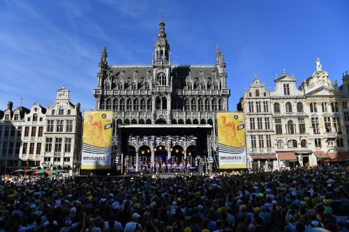 The boss of America's top Tour de France team is looking 24 hours ahead, and no further, as the world's greatest race gets underway in Brussels