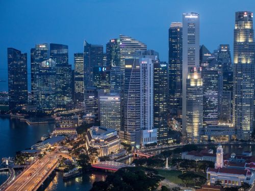 Singapore's financial centre will emerge as big winner of a draconian Chinese law