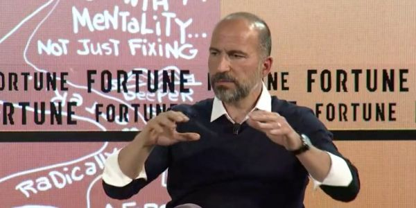 Uber hasn't had a chief financial officer since 2015, and its CEO just admitted that it's been a struggle to fill the role