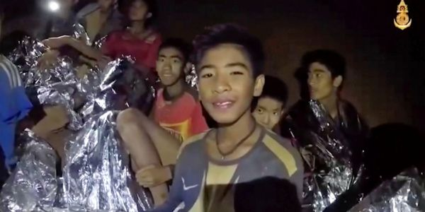 Photos show the daring rescue efforts that brought 4 members of the Thai soccer team to safety