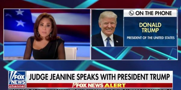 'I think it's a disgrace that you even asked that question': Trump says he 'never worked for Russia' after dodging question in Jeanine Pirro interview