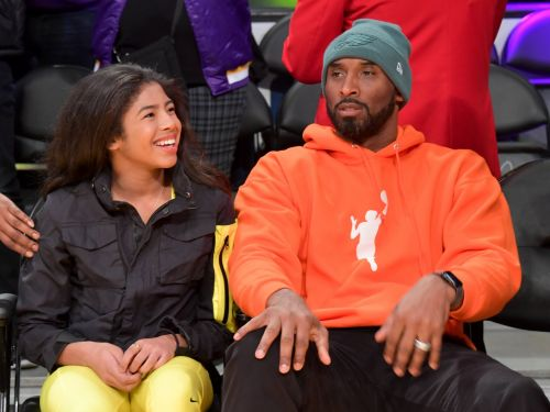 Kobe Bryant's last public appearance was at an NBA game with his daughter Gigi