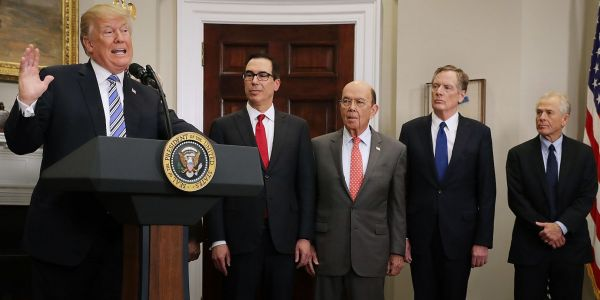 Trump's top trade advisers appear to be on wildly different pages as the China trade war hits a critical str