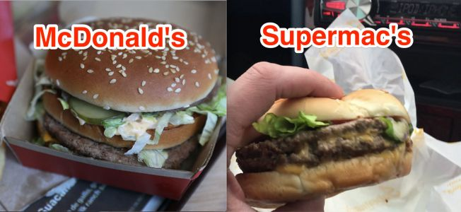McDonald's lost a 'David versus Goliath' trademark battle over Big Macs to a small Irish rival called Supermac's