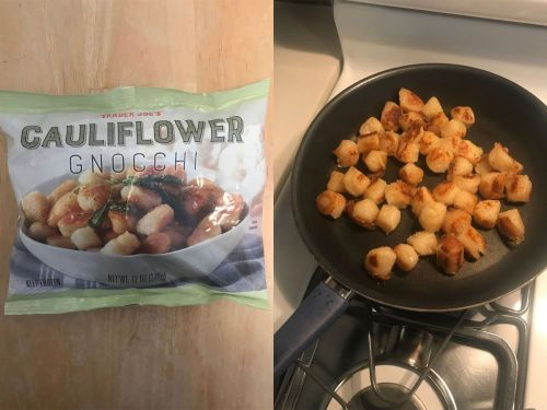 I tried Trader Joe's $3 cauliflower gnocchi, and found it's much more than a guilt-free alternative to pasta