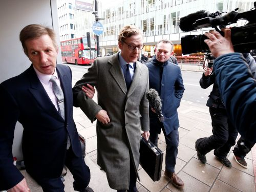 The founder of Cambridge Analytica's parent company admits he lacked an 'ethical radar'