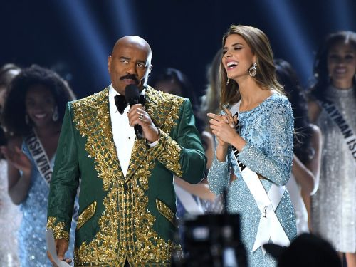 Steve Harvey's cartel joke at Miss Universe 2019 is not going over well