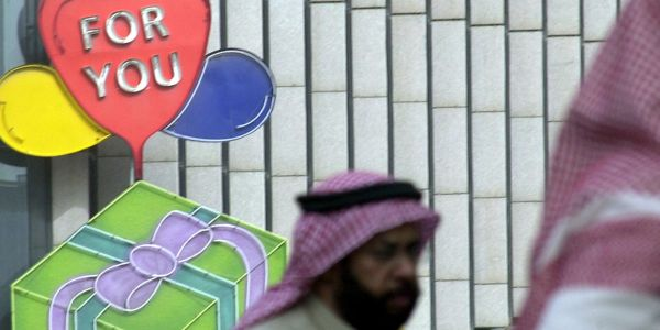 Saudi Arabia finally embraces Valentine's Day after years of crackdown by the Islamic religious police