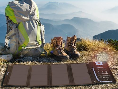 This portable solar charger is 15% off on Amazon for Cyber Monday, bringing the price down to $51