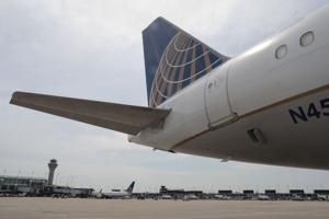 United Airlines flight attendants launch protest over downsizing of international crews