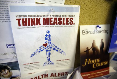 US health officials threatened to invoke a rare airplane 'Do Not Board' order to contain the country's growing measles outbreak