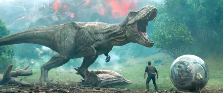 'Jurassic World: Fallen Kingdom' Trailer Sells A Dino Rescue Mision