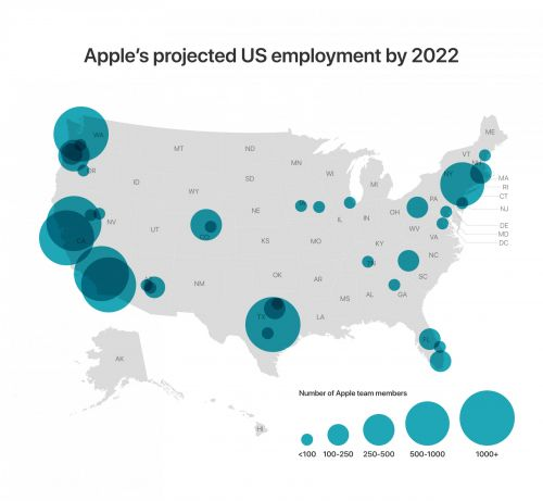 Apple isn't just building a new campus in Austin. Here's everywhere the tech giant is expanding