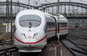 Hiccup for German high-speed line on 1st regular service day