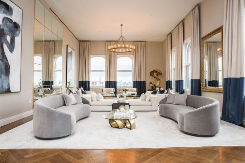 A $21 million apartment in one of New York's most historic buildings has breathtaking 360-degree views of Manhattan - see inside