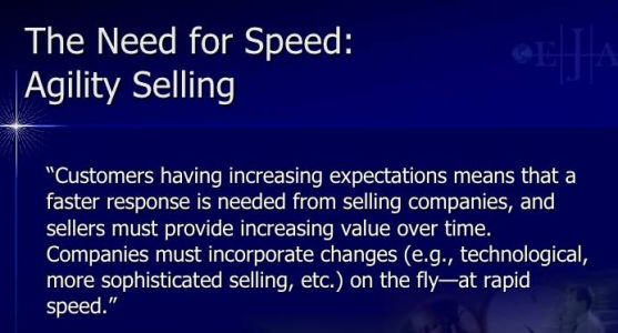 Speed Is The New Currency in Sales: How Agility Selling Leads to Selling Success