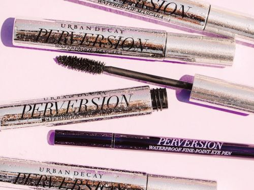 Urban Decay makes the only waterproof mascara and eyeliner that actually stay on my face - even in 90-degree heat