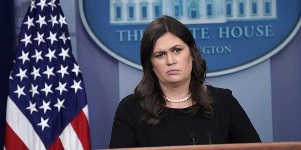 Sarah Sanders made a bizarre claim about black employment under Trump compared to Obama as a defense against Omarosa's attacks
