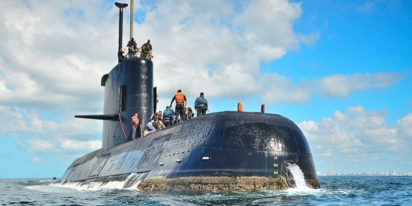 Argentina releases first images of the submarine San Juan - lost a year ago at 3,000 feet deep with all its crew
