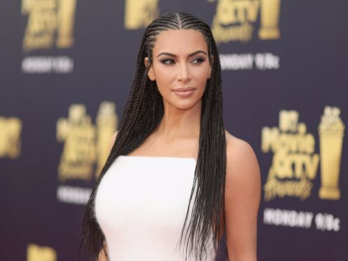 Kim Kardashian wore her hair in cornrows again - and she's being accused of cultural appropriation