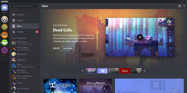 The world's biggest chat platform for gaming is taking aim at Steam, the world's biggest gaming storefront
