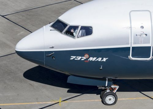 Boeing's stock jumps after report says the plane maker will roll out a software upgrade for the 737 Max in 10 days