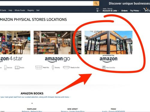 Amazon quietly started promoting a new kind of store after pulling the plug on its pop-up kiosks
