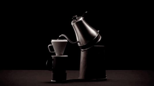 The Automatica automates pour-over coffee in a charming and totally unnecessary way