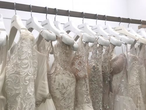 I went shopping at Kleinfeld, the high-end bridal salon where TLC's 'Say Yes to the Dress' is filmed - here's what it was like
