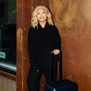 Away's Jen Rubio is a notorious overpacker, but she knows how to fly in style