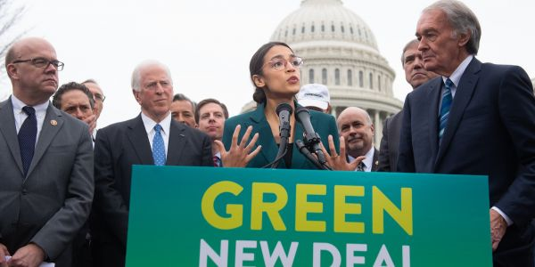 Large majorities of Americans support almost all of the key ideas in Alexandria Ocasio-Cortez's Green New Deal
