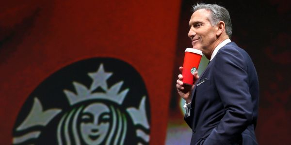 Starbucks is using the oldest trick in the book to boost its stock price