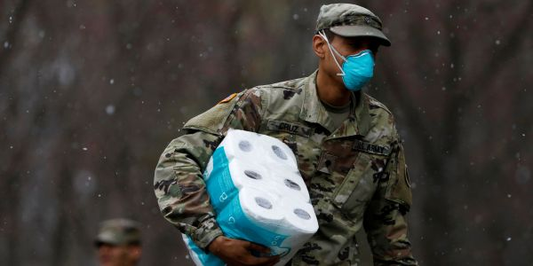 National Guard soldier dies after testing positive for coronavirus and being hospitalized