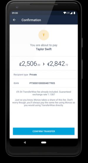 Fintech friends: Monzo partners with TransferWise for international payments