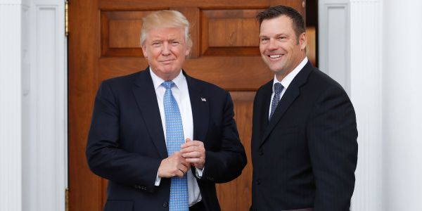 Trump's 'immigration czar' candidate Kris Kobach has a few demands before he agrees to take the job. They include access to a government jet, a security detail, guaranteed weekends off, and a promotion by the end of the year