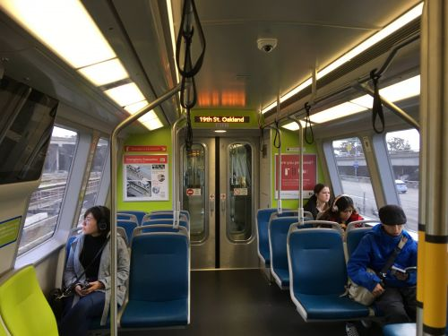 San Francisco's new public trains are clean, spacious and surprisingly quiet - here's what it's like to ride one